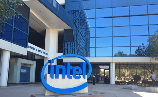 Intel's Stock Price Goes Up After The Movidius Announcement